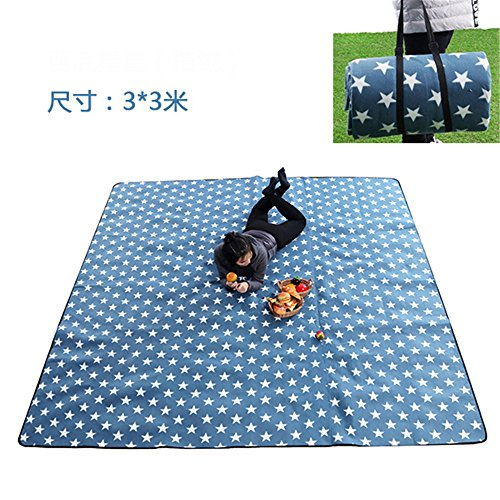 MONEYY The Picnic mat red and white format outdoor portable moisture pad tent picnic the picnic camping mats 300*375cm