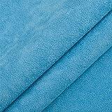 In microfibra, luci Ours, mobili Tessuto, imbottitura in tessuto, tessuto decorativo, acxliner, al metro - blu cielo