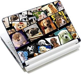 غطاء حماية ملصق وقاية لجهاز اللاب توب مصنوع من الفينيل بطبعة على شكل كلاب لطيفة لجهاز نوت بوك مقاس 12 13 13.3 14 15 بوصة