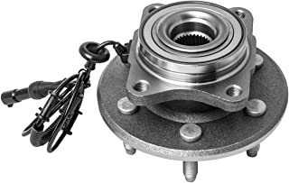 4WD and RWD 5 Lug W//O ABS 2-Wheel ABS Models Only TUCAREST 515072 x2 Front Wheel Bearing and Hub Assembly Compatible 2002 2003 2004 2005 2006 2007 2008 Dodge Ram 1500 Pair