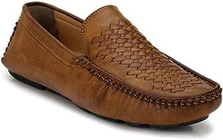 Levanse Leather Slip On Formal Shoes for Men/Boys