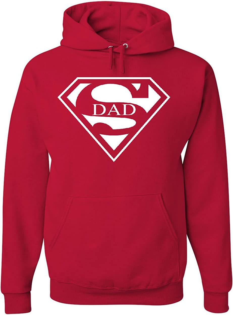 Superdad Logo hoodie Superdad Hoods Superman Birthday Gift pullover for Men Women and Kids hoodie Superheroes hoodie Superdad hoodie