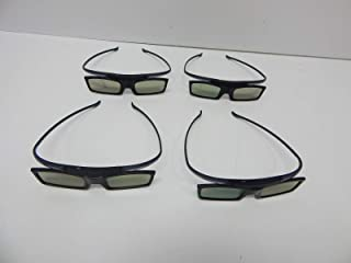 Samsung SSG-5100GB 3D HD TV Active Glasses Lot of 4 Brand New
