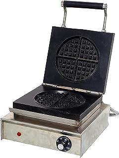 جهاز صنع بسكويت الوفل من المصرية AG1001 - فضي