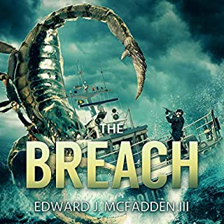 The Breach audiobook cover art