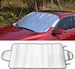 CYCTECH Car Windshield Snow Cover, Waterproof & Sun Protection Winter Cover with Double Side Design, Snow, Ice, Frost, UV Full Protection Fit for Most Vehicles - 75