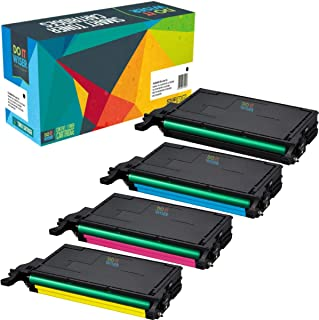 Do It Wiser Compatible Toner Cartridge Replacement for Samsung CLP-620ND CLX-6220FX CLX-6250FX CLP-620 CLP-670 CLP-670N CLP-670ND   CLT-K508L CLT-C508L CLT-M508L CLT-Y508L (4 Pack)
