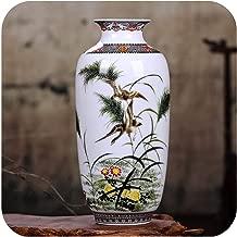 Little-Goldfish vases Ceramic Vase Vintage Chinese Style Animal Vase Fine Smooth Surface Home Decoration Furnishing Articles,4,Australia