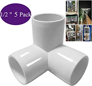 3 Way PVC Corner Fitting 1/2