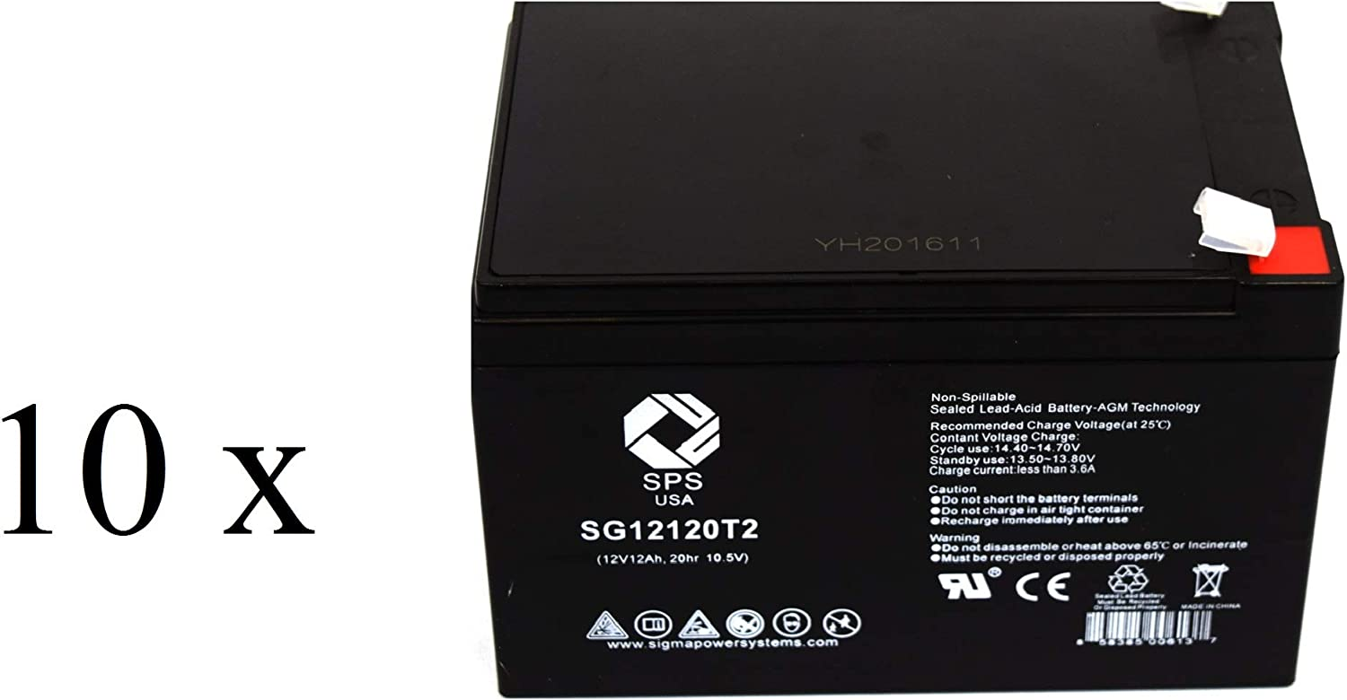 SPS Brand 12V 12Ah Replacement Baltimore Mall Go-Chair Go-Go Battery Pride OFFicial mail order for