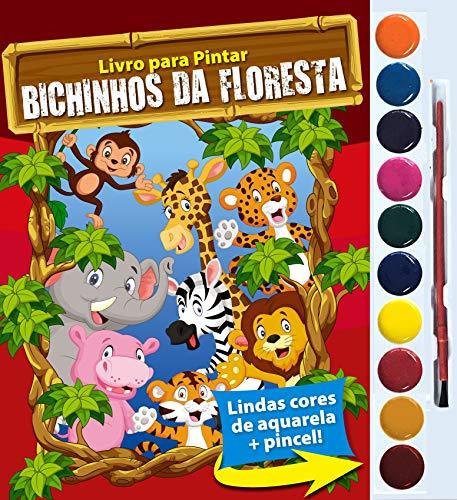 Bichinhos da Floresta: Livro Para Pintar
