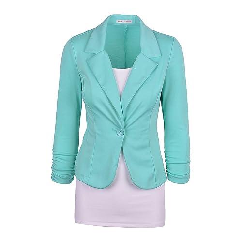 Only Damen Blazer Anzugjacke Business Jacke Jackett Damenanzug Damenjacke SALE