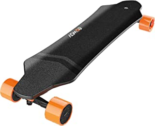 Exway X1 Professional Electric Skateboard Surface Waterproof/Dust-Proof/Anti-Collision 4 Speed Change + Professional Longboard Bridge High Resilient Wheels