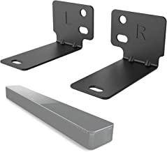 Wall Mount Bracket for Bose WB-300 Sound Touch 300 Soundbar 500 700 Speaker Holder Stands (BSM002) by WALI, Black