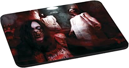 Computer Mouse Pad - Nightmare Zombies Cellar Stairs