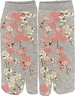 04 Fancy Pumpkin Chaussettes kimono style japonais Kimono Sandales Split Toe Tabi Ninja Geta