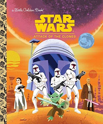 Star Wars: Attack of the Clones (Little Golden Books: Star Wars)
