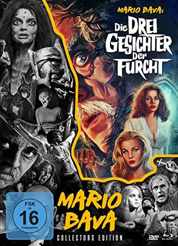 Die drei Gesichter der Furcht - Mario Bava - Collection #5 (+ DVD) (+ Bonus-DVD) [Blu-ray] [Collector\'s Edition]