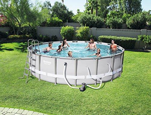 """Bestway Pool Reviews - Bestway 56399E Power Steel Above Ground 18'X52"""" Pool"""