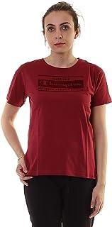 Champion Crewneck T-Shirt For Women - Red L