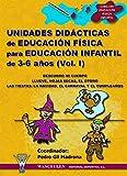 Unidades didácticas de Educación Física para educación infantil (3-6 años) Vol.I: Descubro mi cuerpo - Llueve, hojas secas. el otoño - Las fiestas: Navidad, Carnaval, cumpleaños