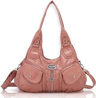 Angel Barcelo Womens Fashion Handbags Purse Shoulder Bags Tote Bags Ladies Girls Designer Satchel Bags