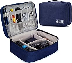 EAYIRA Gedget Organiser Electronics Accessories Organizer Bag, Universal Carry Travel Gadget Bag for Cables, Plug and More...