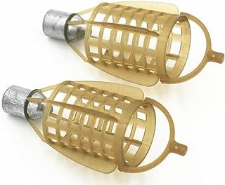 Feeder Set Lead Clip 47/piezas con antienredos Sleeves vertebral goma perlas Feeder Boom