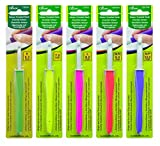 Clover Amour Crochet Hooks - Set of 5 - for Working with Thick Yarns