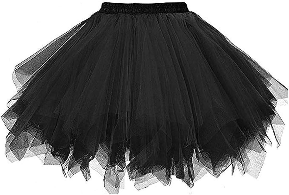 JoJoHouse Girls Short Slips Hoopless Crinoline 3 Layered Net Flower Girl Petticoat Underskirt Elastic Waist KPT4