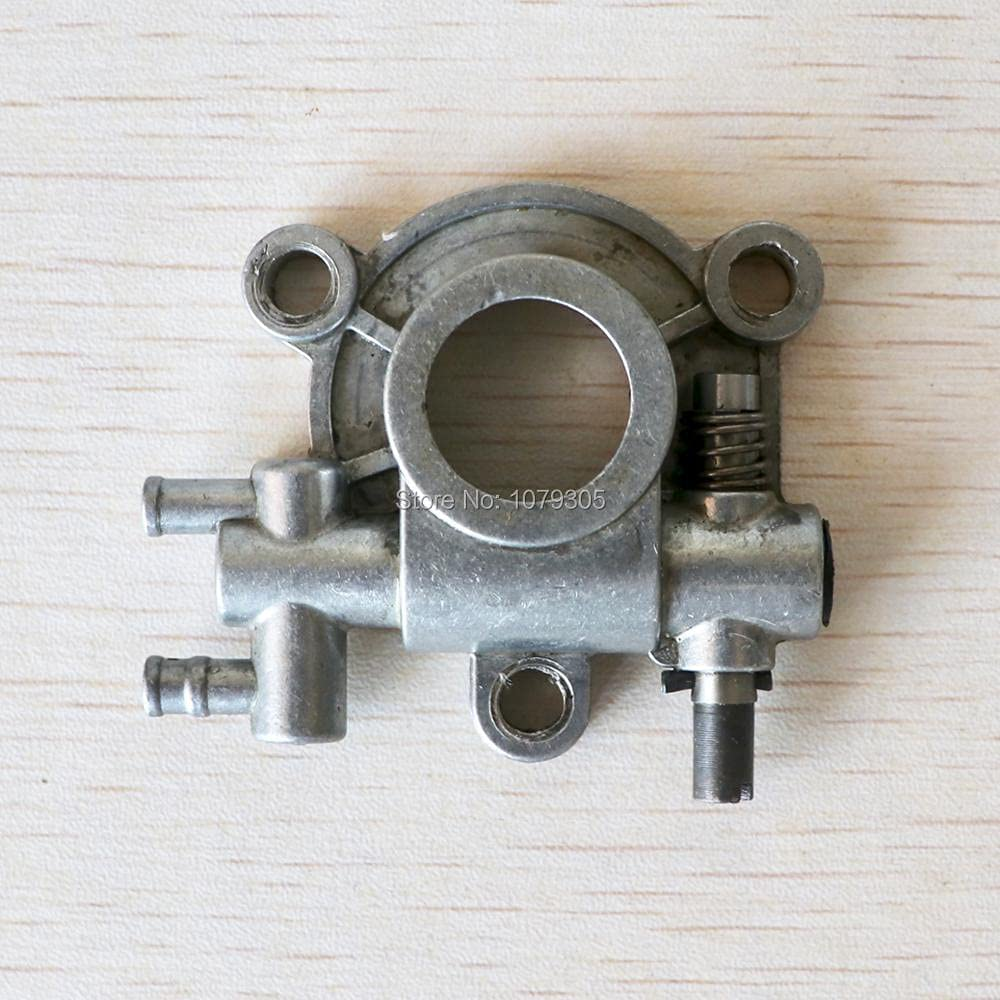 Nuevo diseño de la bomba de aceite de la motosierra 62cc 6200