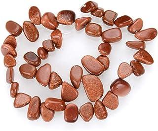 3 Strands Gold Sandstone Gemstone Free Form Gem Dangle Teardrop Briolette Top Drilled 10-20mm Loose Stone Beads (~ 45 Inch...