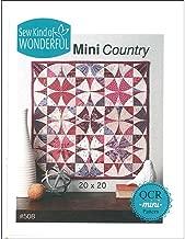 Sew Kind of Wonderful QCR Mini Country Pattern