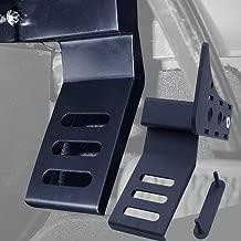 BESKE Dead Pedal Left Side Foot Rest Kick Panel left foot bracket left ankle kick board for Jeep Wrangler JL & JLU