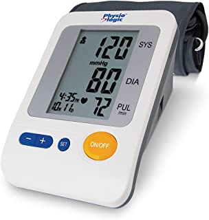 Physio Logic Essentia Automatic Blood Pressure Monitor with Universal Arm Cuff, White