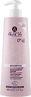 Alama Professional Shampoo Mantenimento Colore per Capelli Colorati, Giallo, 500 Millilitri