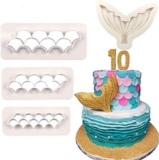Mermaid Tail Shape StainlessSteel Cookie Cake Cutters DIY Biscuit Pastry DecorLU