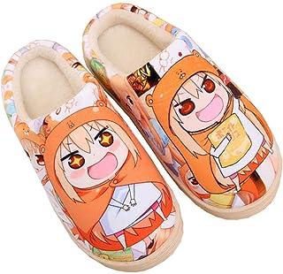 Zapatillas Antideslizantes de Anime de Japón otoño e Invierno Zapatos de casa de Dibujos Animados Suaves y cálidos Zapatil...