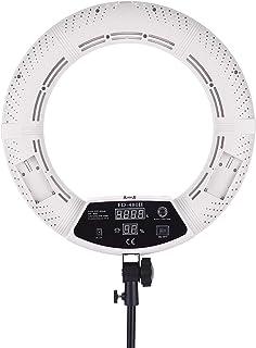 "Andoer FD-480II 17.7 ""/ 45cm 96W 3200-5500K Macro LED Video Ring Licht Set mit LCD Display"