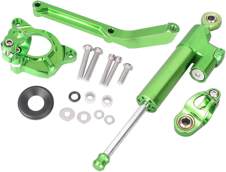 GZYF New Aluminum Steering Damper Stabilizer Mounting Set For KAWASAKI Z1000 20142016