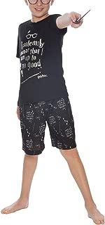 Intimo Big Boys Up to No Good Short Sleeve Boys Pajama Set