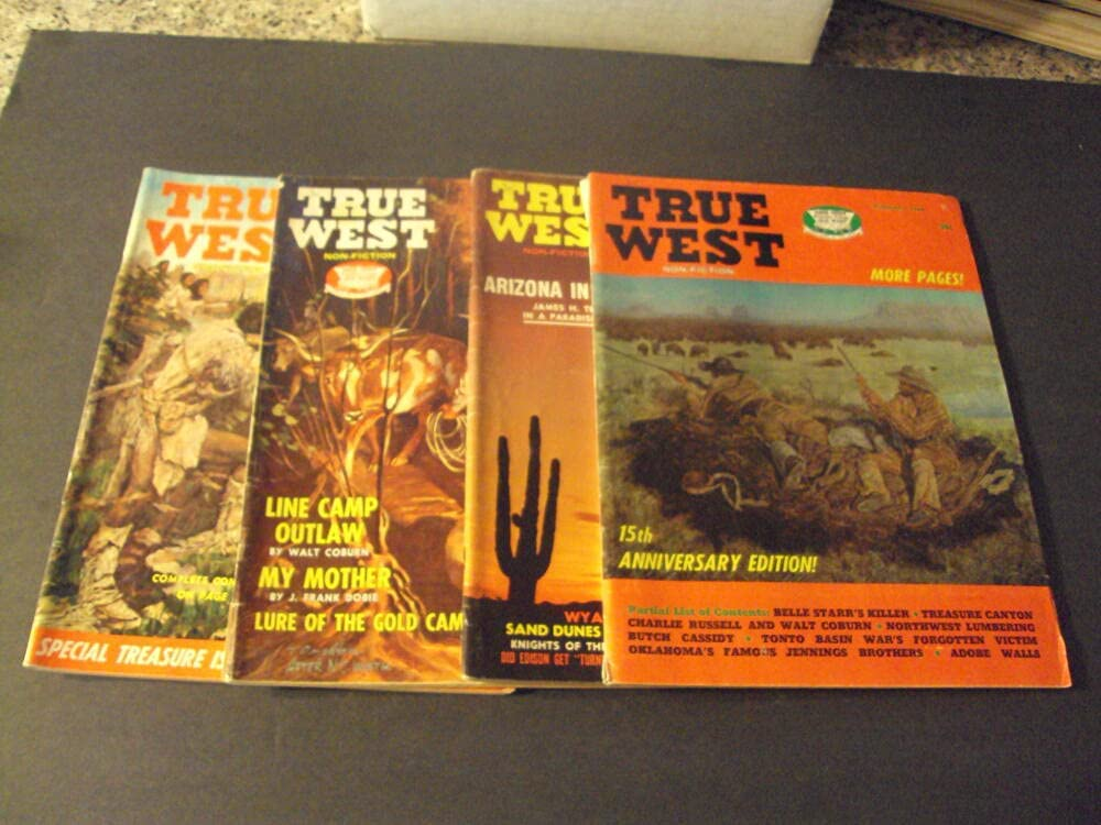 4 Iss Large-scale sale True West Limited Special Price 1968-1969 Line Outlaw in the 50'sT Camp Arizona