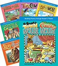 Teacher Created Materials - Reader's Theater: Children's Fables - 6 Book Set - Grades 2-3 - Guided Reading Level E - Q