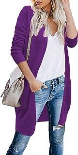 Women Cardigans Sweaters for Women Open Front Long...