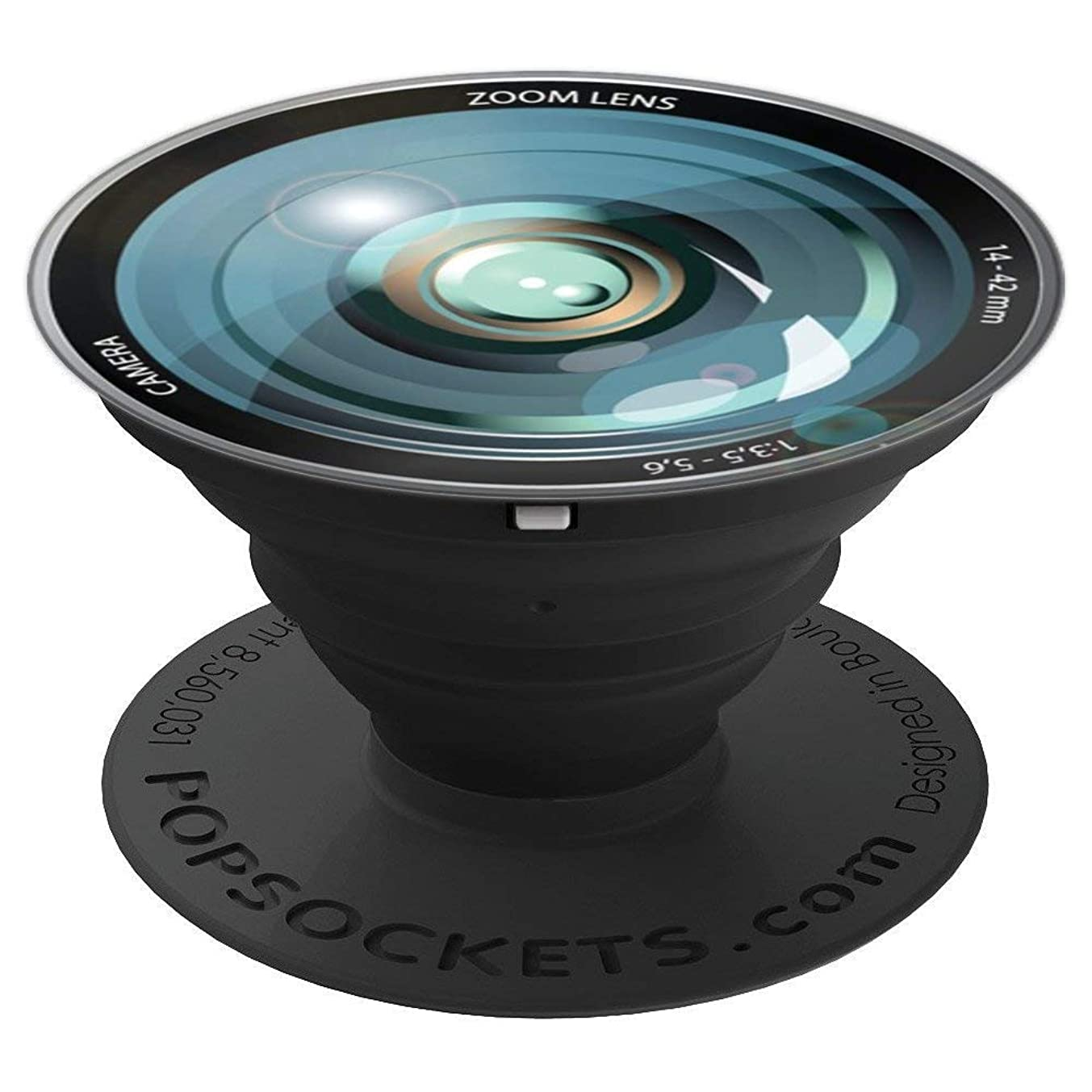 Cool Zoom Camera Lens - PopSockets Grip and Stand for Phones and Tablets