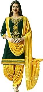 We Designer Indian/Pakistani Ethnic wear Cotton Punjabi Patiala Salwar Kameez Wedding/Party wear for Women
