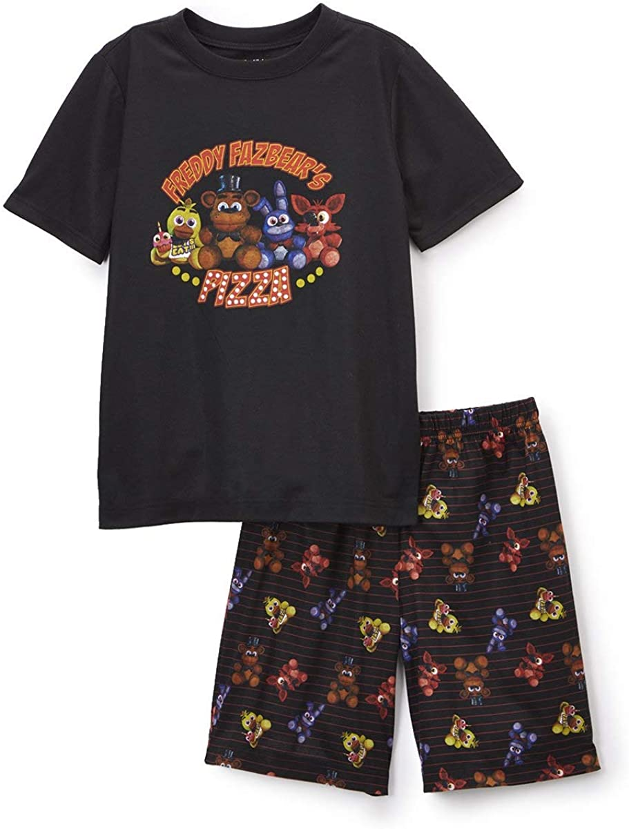 INTIMO Boys Five Nights at Freddys Pajama Short Set