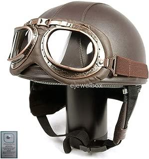 Best vintage motorcycle helmet and goggles Reviews