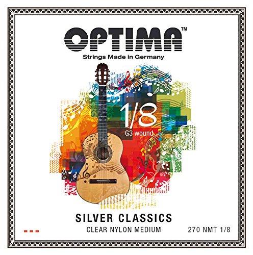 Optima 270 NMT-1/8 SILVER CLASSICS Kindergitarre 1/8 Set (39-44 cm)