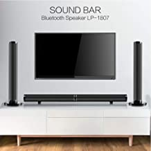 Wireless Speaker Set Home Theater Surround Sound Bluetooth Speaker Set Including 1 Pair of Speakers Manual Remote Control HDMI ARC HD Cable Fiber Optic Cable Double Head R